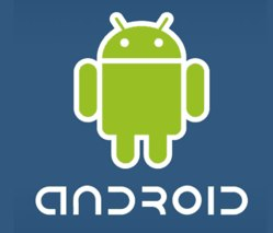 android logo blue